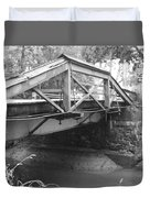 Route 532 Bridge Over The Delaware Canal - Washington's Crossing Duvet Cover