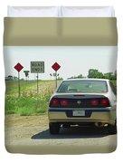 Route 66 - Illinois Duvet Cover