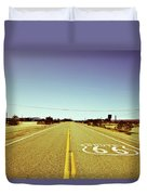 Route 66-73 Duvet Cover