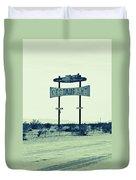 Route 66-80 Duvet Cover