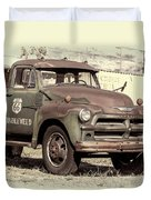 Route 66 Chevy Tumbleweed - #3 Duvet Cover