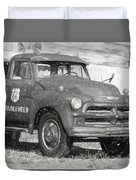 Route 66 Chevy Tumbleweed - #5 Duvet Cover