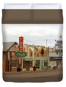 Route 66 - Kingman Arizona Duvet Cover