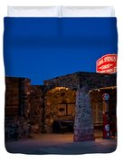 Route 66 Outpost Arizona Duvet Cover