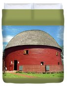 Route 66 - Round Barn Duvet Cover