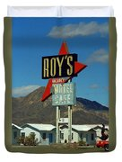Route 66 - Roy's Of Amboy California 2 Duvet Cover