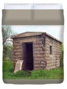 Route 66 - Texola Jail Duvet Cover