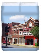 Route 66 Theater Duvet Cover