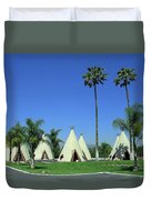 Route 66 - Wigwam Motel 4 Duvet Cover