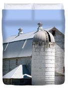 Route 81 Barn Duvet Cover