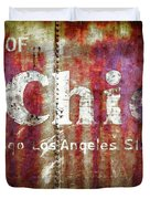 Route Of The Chief Duvet Cover by Lou Novick