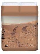 Roving Across Mars 1 - Earth Light Duvet Cover