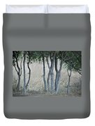 Row Of Trees Duvet Cover