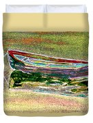 Rowboat Fluorescence 1 Duvet Cover