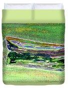 Rowboat Fluorescence 2 Duvet Cover