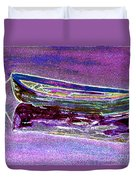 Rowboat Fluorescence 3 Duvet Cover