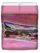 Rowboat Fluorescence 4 Duvet Cover