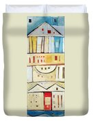 Rowhouse No. 1 Duvet Cover