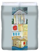 Rowhouse No. 2 Duvet Cover