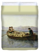 Rowing Boat Duvet Cover