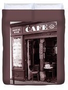 Royal Bar Paris Duvet Cover