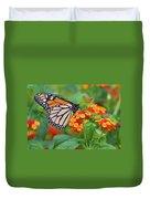 Royal Butterfly Duvet Cover