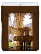 Royal Cloister Of The Batalha Monastery Duvet Cover