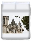 Royal Courts Of Justice Duvet Cover