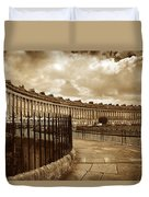 Royal Crescent Bath Somerset England Uk Duvet Cover