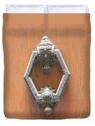Royal Door Knocker Duvet Cover