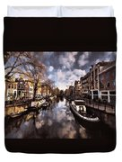 Royal Dutch Canals Duvet Cover