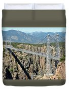 Royal Gorge Bridge In Summer Duvet Cover