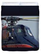 Royal Helicopter Duvet Cover