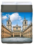 Royal Monastery El Escorial Duvet Cover