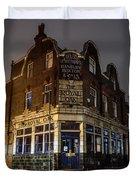 Royal Oak Pub Columbia Road London Duvet Cover