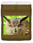 Royal Owl Duvet Cover