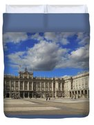Royal Palace Of Madrid Spain Duvet Cover