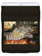 Royal Palace Ramayana 08 Duvet Cover