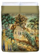 Royal Palace Ramayana 12 Duvet Cover