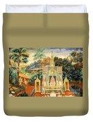 Royal Palace Ramayana 13 Duvet Cover
