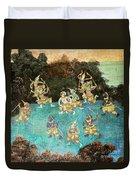 Royal Palace Ramayana 16 Duvet Cover