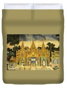 Royal Palace Ramayana 20 Duvet Cover