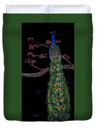 Royal Peacock Duvet Cover