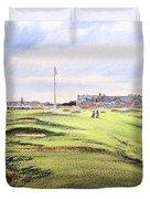 Royal Troon Golf Course Duvet Cover