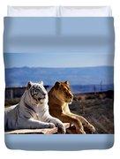 Big Cats Duvet Cover