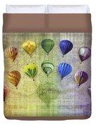 Roygbiv Balloons Duvet Cover
