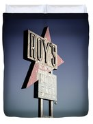 Roys Motel And Cafe Duvet Cover