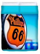 Rt. 66 Gas Pump Duvet Cover