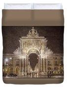 Rua Agusta Arch Lisbon Textured Duvet Cover