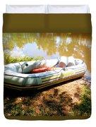 Rubber Boat 1 Duvet Cover